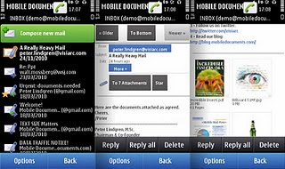 Mobile Documents – Email Client For Symbian & Android