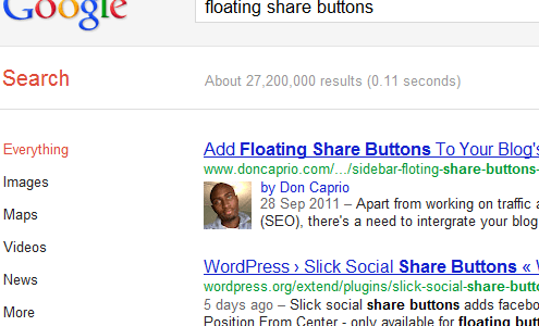 how to show blog author's google plus profile picture in search result page