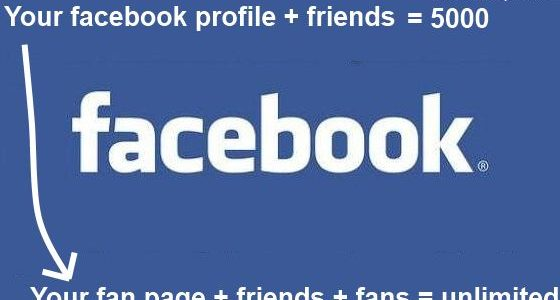 how to pass facebook 5000 friends limit