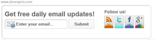 how to add email subscription form below blogger posts