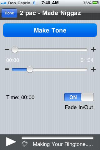 free app to create ringtones on iphone