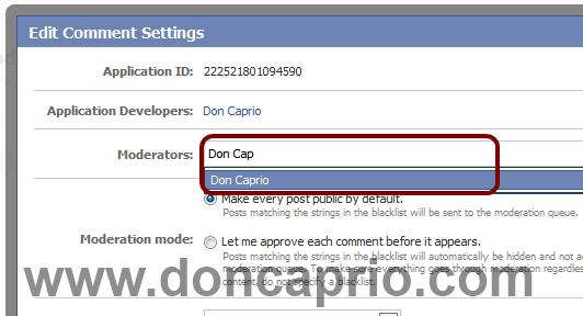 facebook comment box for blogger with notification