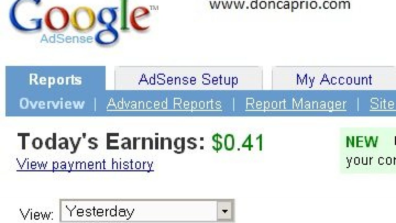 7 Reasons Why Your Google Adsense Earning is Low