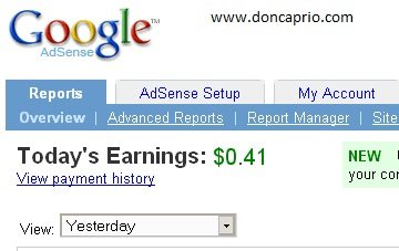 low google adsense earnings