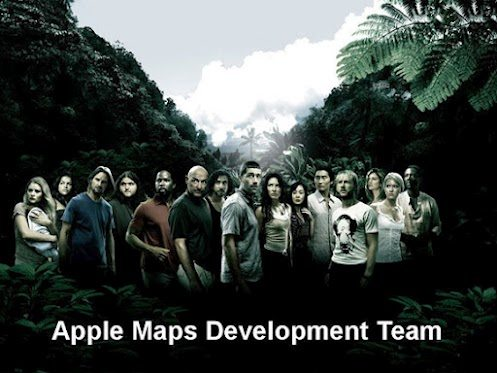 lost movie apple maps iPhone 5 meme