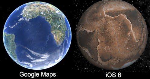 iOS 6 Maps meme geekhumor
