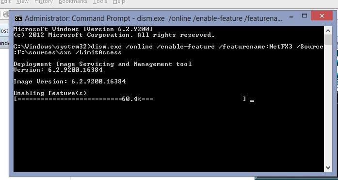 .net framework 5.5 on windows 8