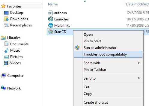 compatibility mode in windows