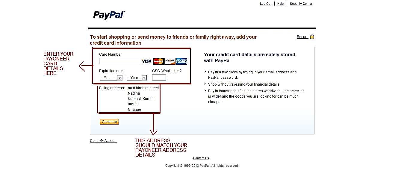 How To Activate A Valid Paypal Account In Nigeria Ghana