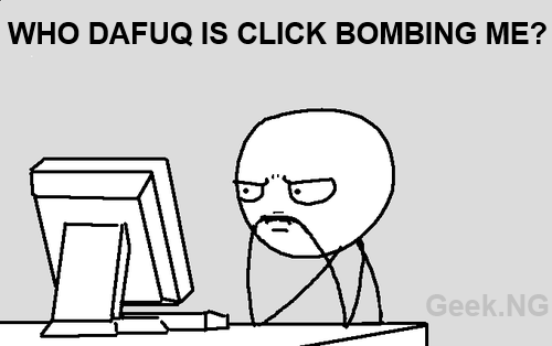 How to Deal With Adsense Click Bombing on Your Blog