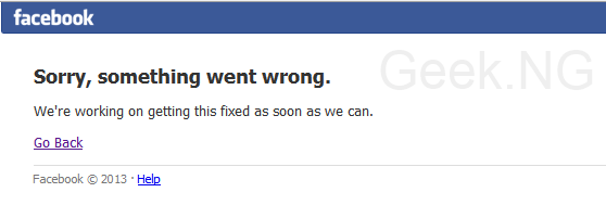 Sorry, Something Went Wrong: Facebook is Down, Users Take to Twitter