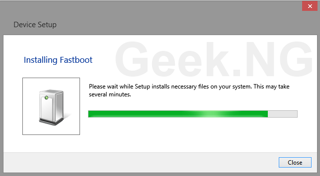 install fastboot windows