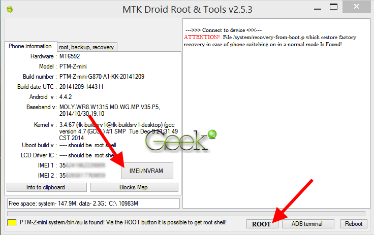 how to find mobile with imei