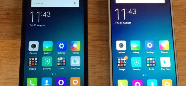 Xiaomi Red Mi2 and M4