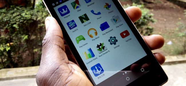 A rooted Infinix Hot 2