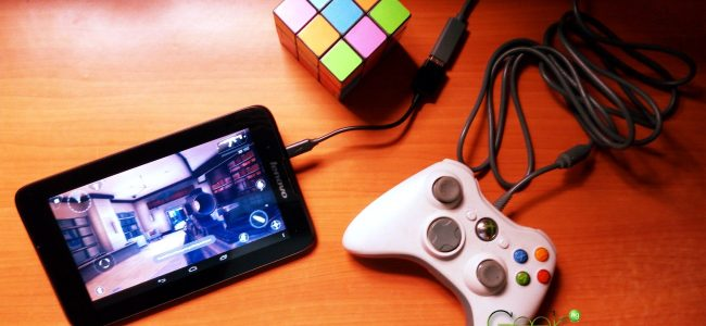 using an xbox 360 game controller with Android