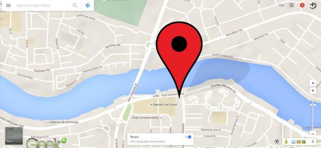 Google Maps - victoria island