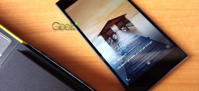 Infinix zero 3 has a 5.5 inch screen