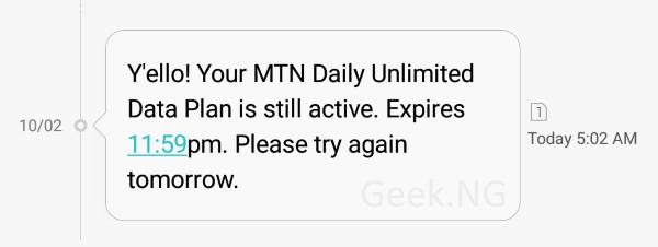 mtn unlinited daily data plan