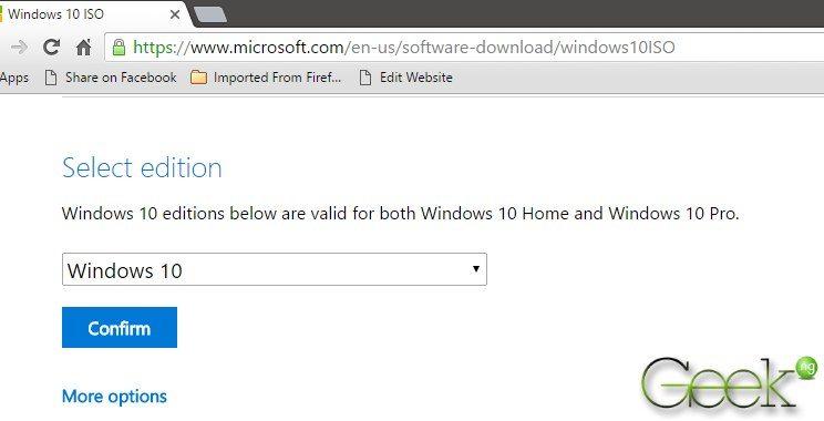 offline installer windows 10 ISO