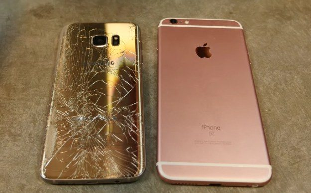 iPhone 6s Plus Vs Samsung Galaxy S7 Drop Test Video
