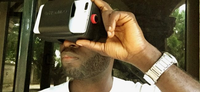 Homido VR headset demo