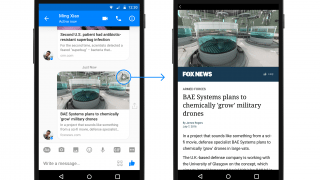 Facebook Adds Instant Articles to Messenger