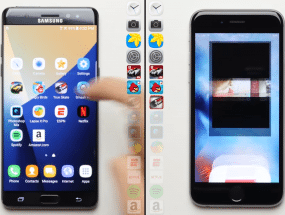 samsung galaxy note 7 vs iPhone 6s