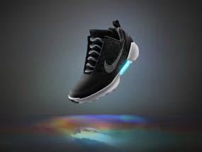 Nike self-lacing sneakers