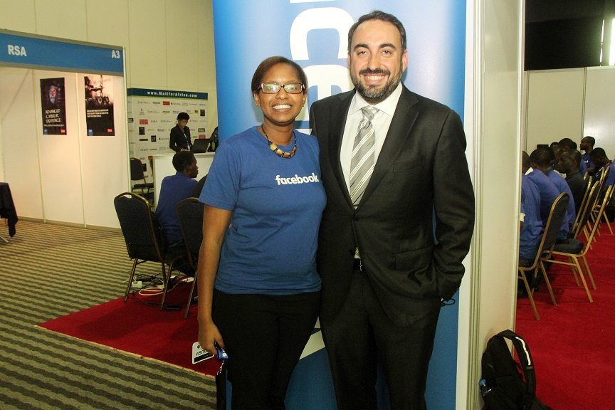 Alex Stamos, Chief Security Officer, Facebook and a participant at the Hackhaton challenge