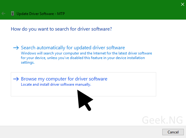 search-for-driver