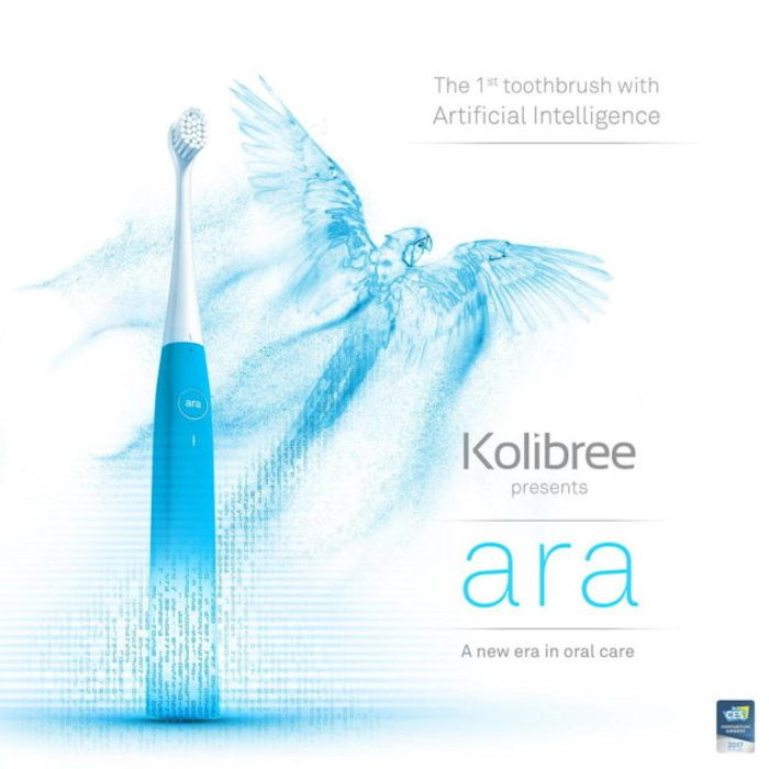 Kolibree Releases Ara, the First Smart Toothbrush Powered by Artificial Intelligence