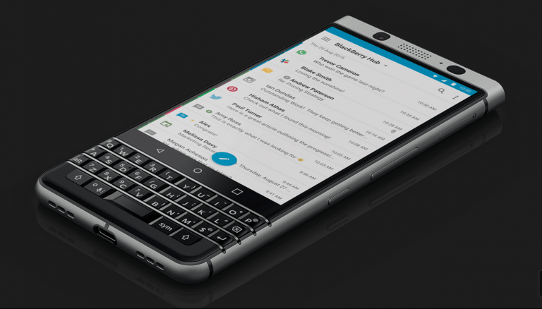 A Quick Look at Blackberry KEYone: Features & Specifications