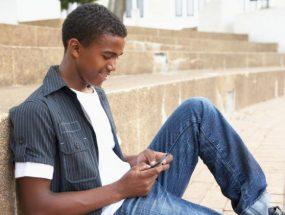 teen phone user