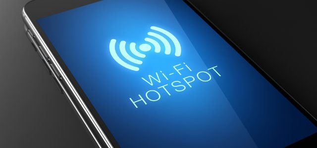 wifi hotspot on mobile phone
