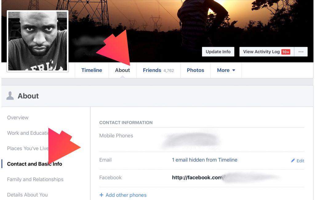 Block birthday notification on Facebook