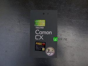 Tecno Camon CX - box