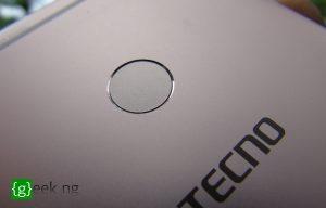 Tecno Camon CX - fingerprint