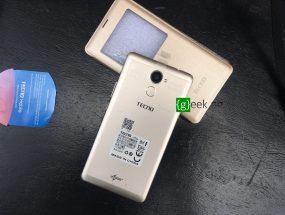 Tecno L9 Plus - back