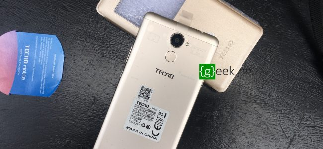 Tecno L9 Plus - back