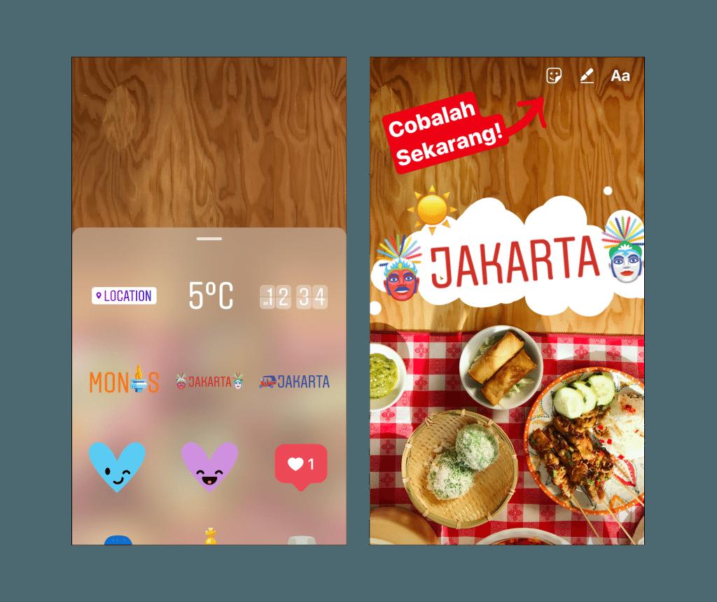 instagram geostickers