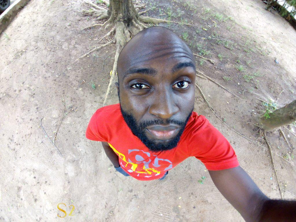 infinix s2 wide angle selfie