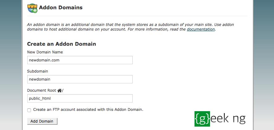 change wordpress domain name