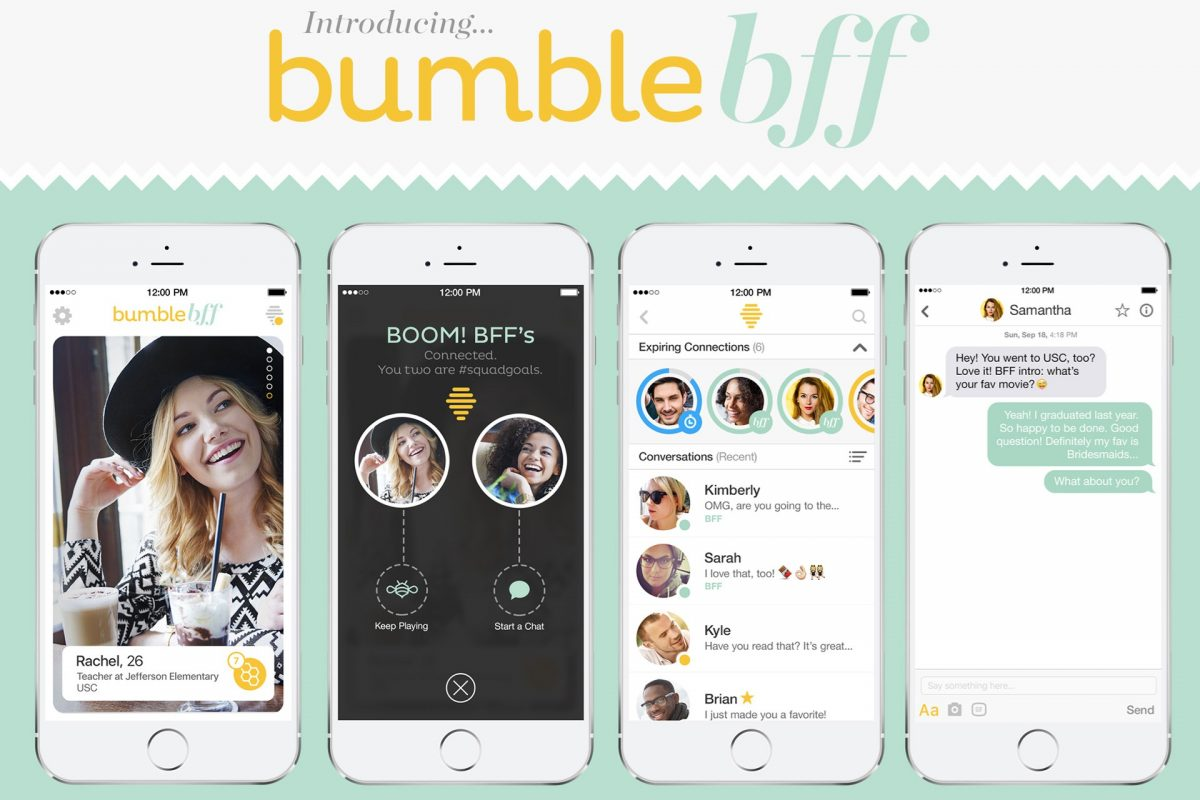 Introducing Bumble BFF