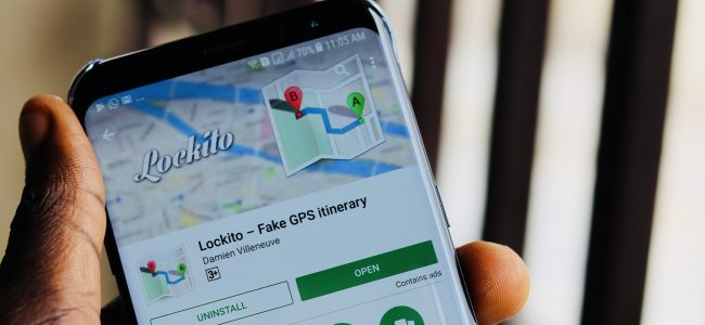 Lockito fake GPS app