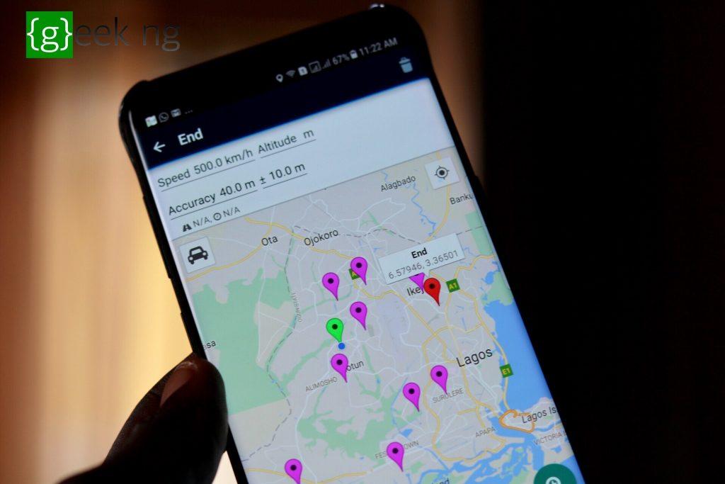 Lockito fake GPS app