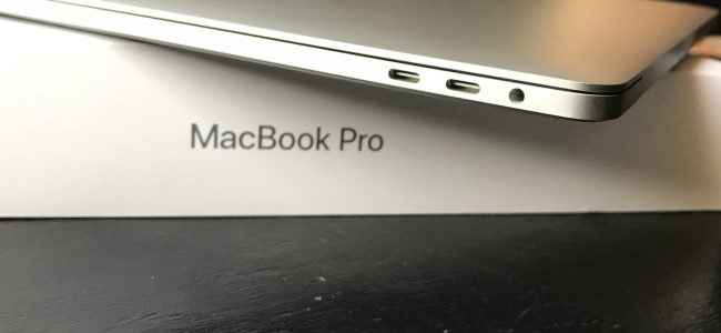 macbook pro 2017 usb type-c ports