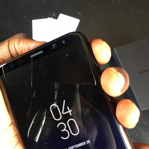 Samsung Galaxy S8+ always on display