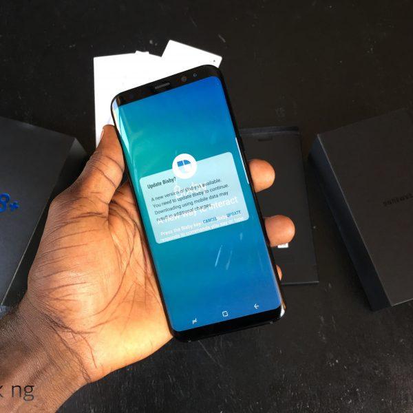 Samsung Galaxy S8+ display
