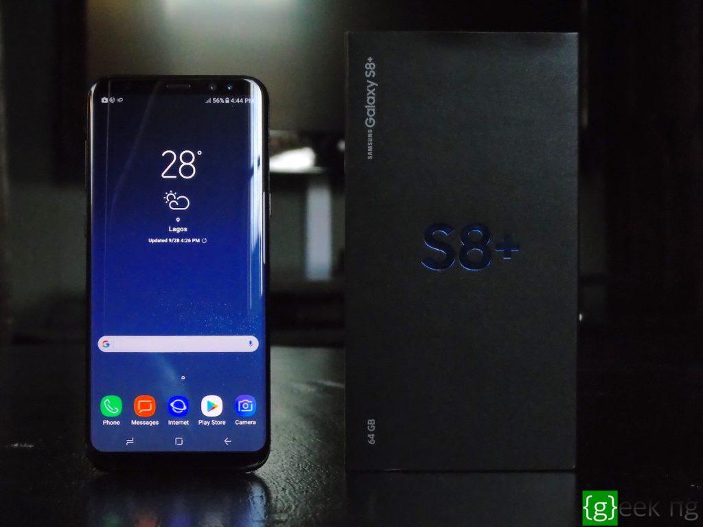 Samsung Galaxy S8+ profile